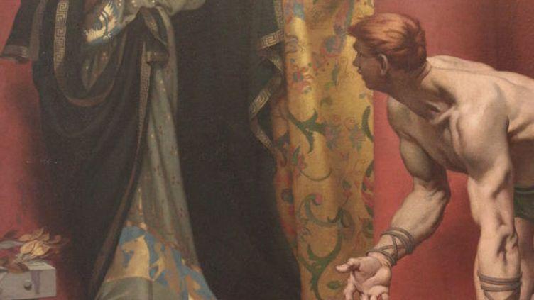 La mort de l'empereur Commode, de Fernand Pelez. (PICASA)