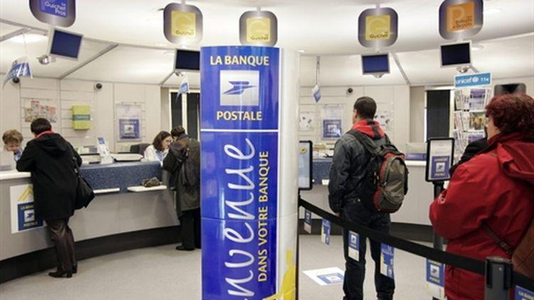 La Banque postale, nouvelle venue dans le paysage bancaire français depuis 2006 (AFP / Bertrand GUAY)