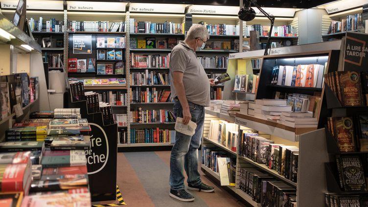 Une librairie à Bordeaux, le 25 mai 2020 (VALENTINO BELLONI / HANS LUCAS via AFP)