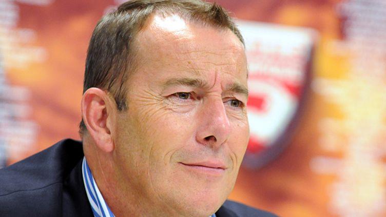 Jean-Marc Conrad, président du Nîmes Olympique (STRINGER / AFP)
