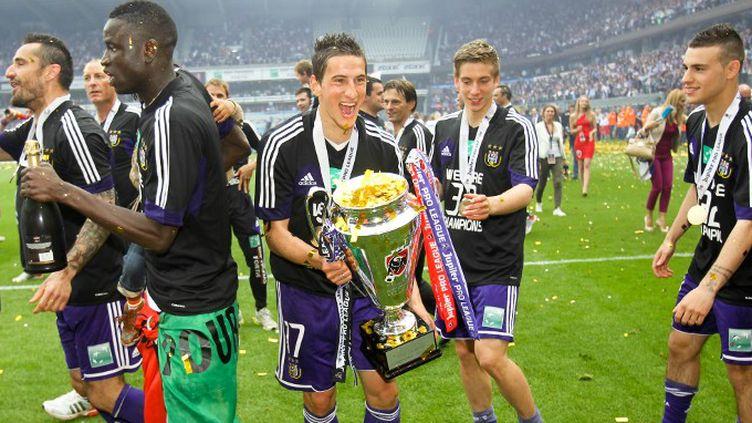 Anderlecht, champion de Belgique.