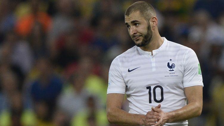 Karim Benzema plus que jamais dans la tourmente... (FRANCK FIFE / AFP)