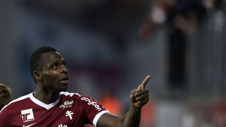 L'an dernier l'arrivée de Cheick Diabaté avait contribué au maintien du FC Metz. (JEAN CHRISTOPHE VERHAEGEN / AFP)