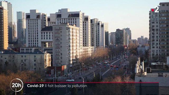 Covid-19 : une baisse de la pollution