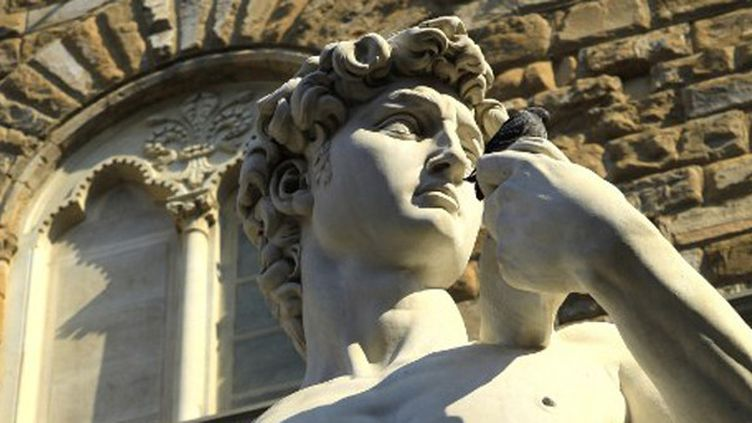 Le devenir du David de Michel-Ange à Florence, inquiète les Italiens.  (AFP)