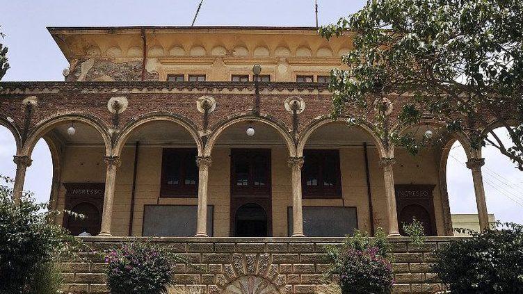 La façade du théâtre Asmara dans la capitale de l'Érythrée en juillet 2013. (JENNY VAUGHAN / AFP)