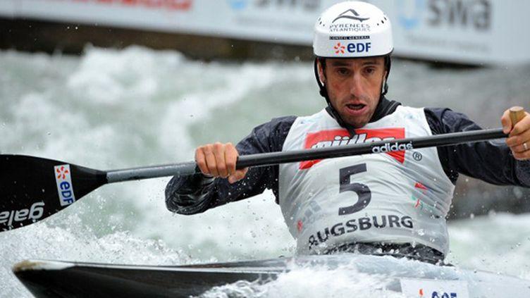 Le double champion olympique (2000, 2004), Tony Estanguet