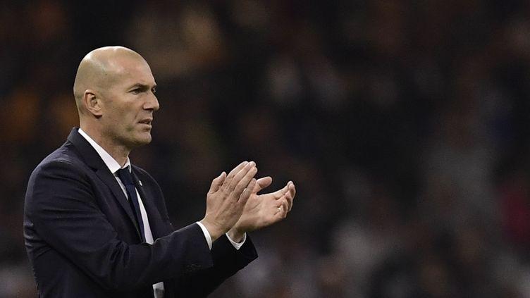 Deuxième Ligue des champions comme entraîneur pour Zinédine Zidane (JAVIER SORIANO / AFP)