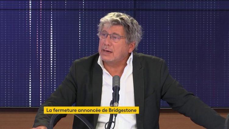 Eric Coquerel, le 19 septembre 2020. (FRANCEINFO / RADIOFRANCE)