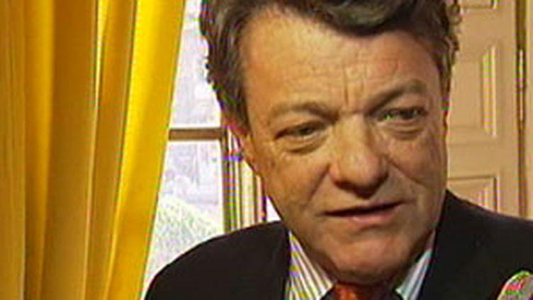 Jean-Louis Borloo, le ministre de l'Ecologie. (F2)