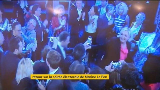Retour sur la soirée électorale de Marine Le Pen