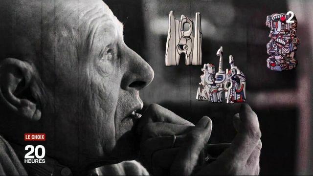 Jean Dubuffet était un artiste français atypique, cumulant les casquettes de peintre sculpteur et plasticien. Le passionné d'art brut s'est crée un univers particulier exposé au MuCEM de Marseille ( Bouches-du-Rhône) et à la Biennale de Venise (Italie). Immersion dans son monde avec le choix du 20 Heures.