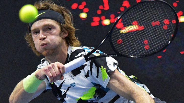 Andrey Rublev remporte le titre à Saint-Pétersbourg (ALEXANDER GALPERIN / SPUTNIK)
