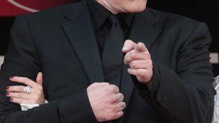 """Quentin Tarantino, à Cannes, en 2009 pour """"Inglorious Basterds"""" (FRANCOIS GUILLOT / AFP)"""