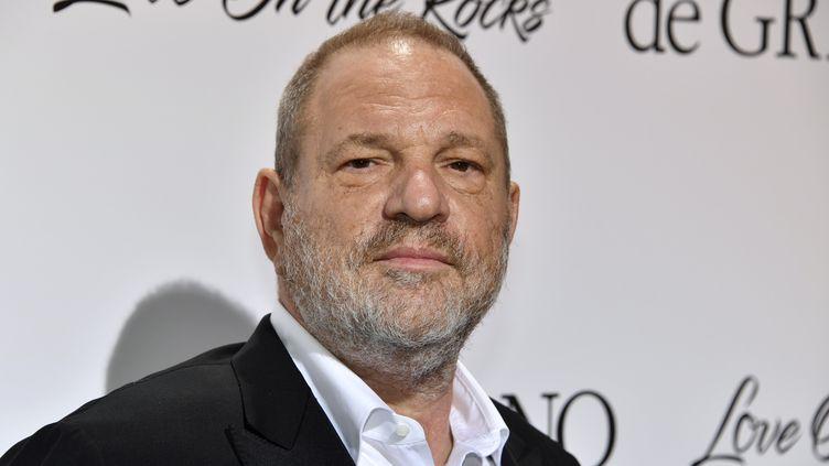 Le producteur Harvey Weinstein, le 23 mai 2017 à Antibes (Alpes-Maritimes). (YANN COATSALIOU / AFP)