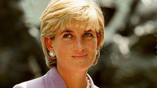 La princesse de Galles, Diana, le 17 juin 1997, lors d'une cérémonie au siège de la Croix-Rouge à Washington (Etats-Unis). (JAMAL A. WILSON / AFP)