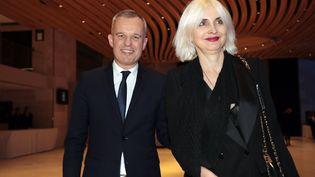 François etSéverine de Rugy,au 34e dîner du Conseil représentatif des institutions juives de France, au Carrousel du Louvre à Paris,le 20 février 2019. (LUDOVIC MARIN / AFP)