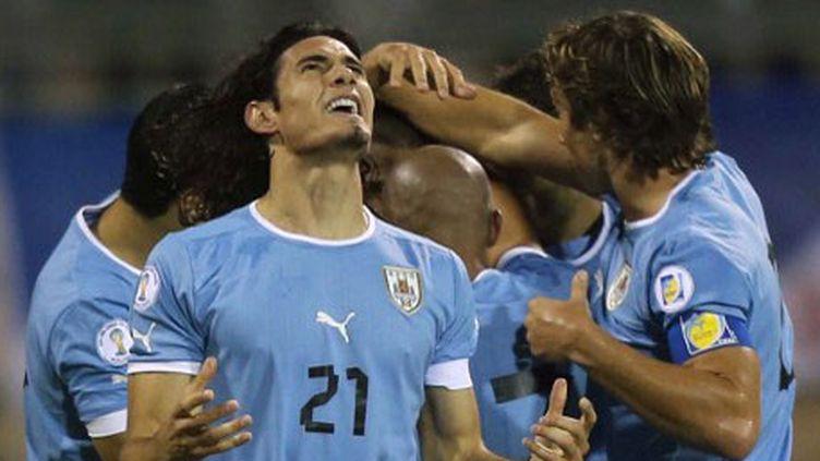 L'attaquant uruguayen Edinson Cavani