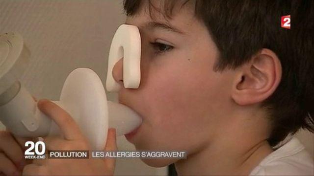 Asthme dû à la pollution : les enfants sont les plus impactés