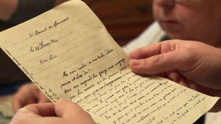 Des lettres écrites pendant la seconde guerre mondiales ont été retrouvées (France 3)