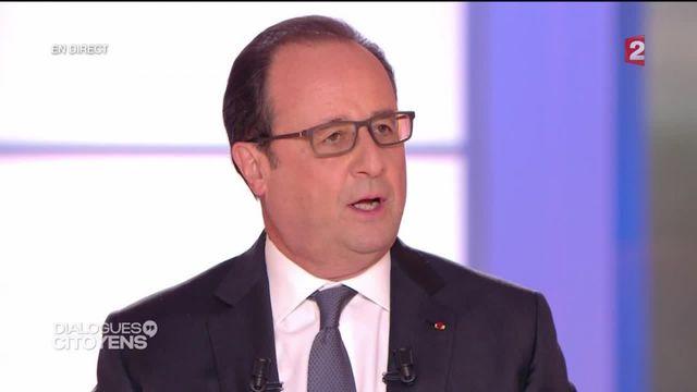 """Hollande à """"Dialogues citoyens"""" : """"Oui ça va mieux"""""""