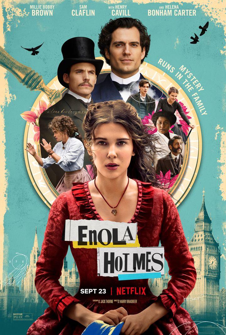 "Affiche du film ""Enola Holmes"". (LEGENDARY)"