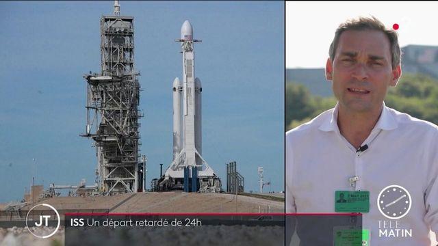 ISS : nouveau compte à rebours pour Thomas Pesquet