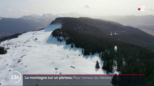 La montagne sur un plateau : pour l'amour du Vercors