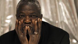 L'ex-secrétaire d'Etat Kofi Yamgnane, lors d'une conférence de presse à Paris, le 8 février 2010. (JOEL SAGET / AFP)