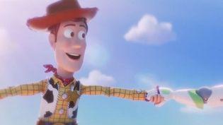 Woody, Jessy et Buzz l'Éclair sont de retour à l'affiche pour le quatrième opus de Toy Story, mercredi 26 juin au cinéma. De nouveaux jouets font leur apparition. (FRANCE 2)