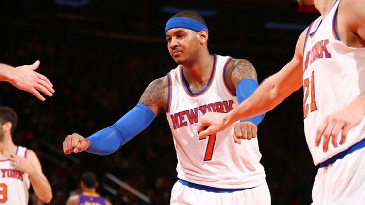 La star des Knicks, Carmelo Anthony