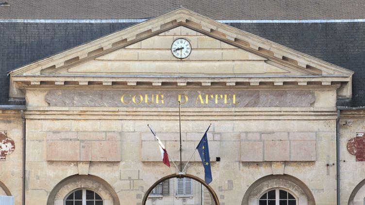 Le fronton de La cour d'appel de Versailles, dans les Yvelines, le 30 septembre 2011. (JACQUES DEMARTHON / AFP)