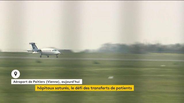 Coronavirus : des patients transférés pour désengorger les hôpitaux