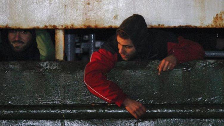 (L'arrivée de migrants syriens ici en Italie ne signifie pas la fin de la galère © REUTERS/Antonino Condorelli)