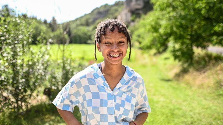 Chaïma, 13 ans et demi, jeune pousse du slam (MALIKA FERRARA)