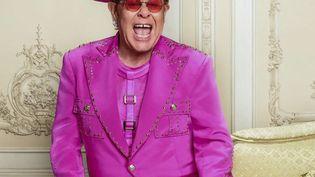 Capture d'écran d'Elton John sur les réseaux sociaux, le 22 septembre 2021. (PHOTOSHOT / MAXPPP)