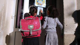 La rentrée scolaire dans une école élémentaire deMontpellier (Hérault), le 2 septembre 2014. (MAXPPP)