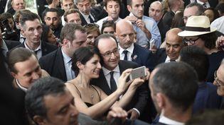 François Hollande à Santiago (Chili), le 21 janvier 2017 (STEPHANE DE SAKUTIN / AFP)