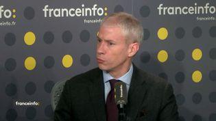 Le ministre de la Culture, Franck Riester. (FRANCEINFO)