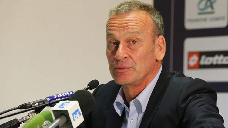 Jean-Marc Furlan, l'entraîneur de l'ESTAC (MAXPPP)