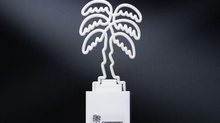 L'un des trophées remis à Canneseries en 2020. (JOEL SAGET / AFP)