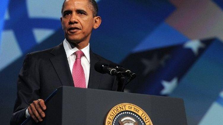 Barack Obama, le président américain,le 4 mars 2012 à Washington (Etats-Unis). (JEWEL SAMAD / AFP)
