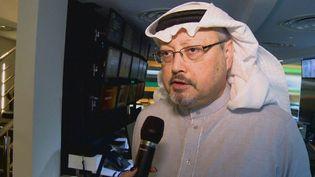 Jamal Cachogui, journaliste saoudien, a été aperçu pour la dernière fois mardi, alors qu'il pénétrait dans le consulat de son pays à Istanbul. (France 24)
