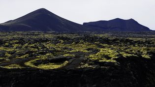 La région volcanique près de Grindavik (Islande). Photo d'illustration. (OLIVIER MORIN / AFP)
