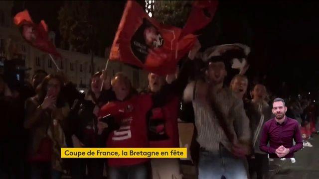 Coupe de France : nuit de liesse à Rennes