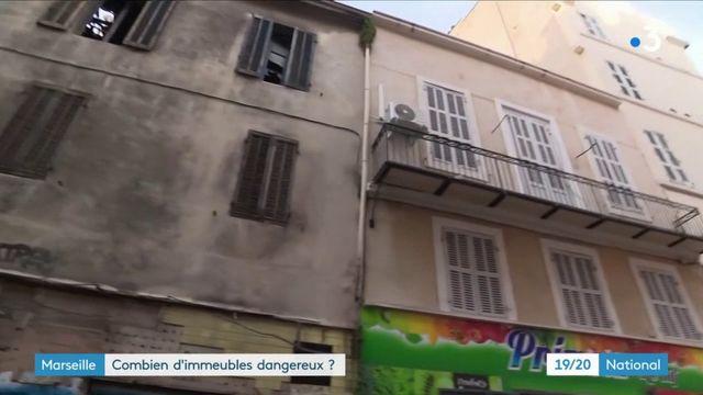 Marseille : combien d'immeubles dangereux ?