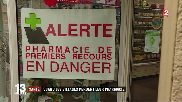 Santé : quand les villages perdent leur pharmacie