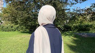 Chayma, 19 ans, étudiante à l'IUT Paris-Nanterre. (MANON MELLA / FRANCEINFO)