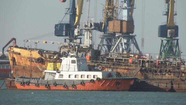 Les ports ukraniens en mer d'Azov sont bloqués par la Russie. (France 24)