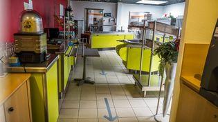 Restaurant d'entreprise à Vesoul (Haute-Saône). (Jean-Francois FERNANDEZ / RADIO FRANCE)